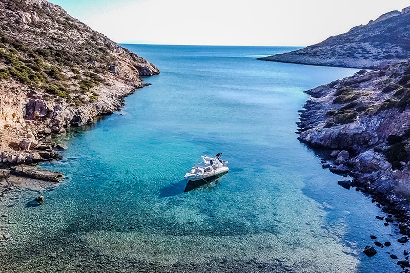 About Naxos Rent a Boat