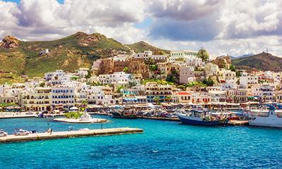 Meeting point - Naxos Main marina