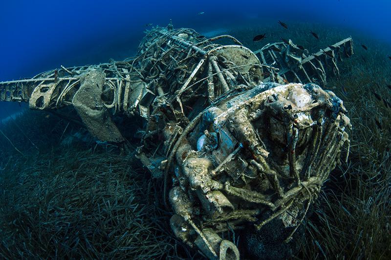 Irakleia Airplane Wreck