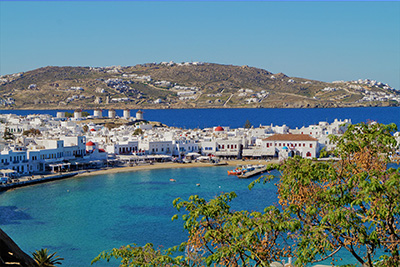 mykonos is the world famous party island
