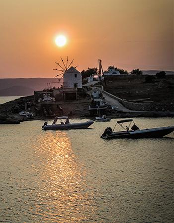 Naxos sunset cruise
