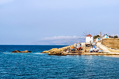 small cyclades are the greek caraibbean islands