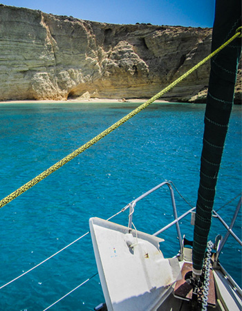 Xanemo Sailing offers the best sailing tours in Naxos