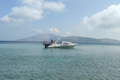 Rent a RIB boat from Naxos.